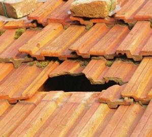 Как отремонтировать черепичную крышу