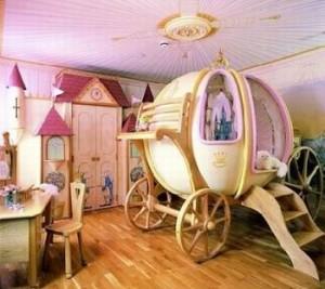 Дизайн детской комнаты для юной принцессы
